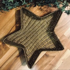 Other - Wicker Star Basket